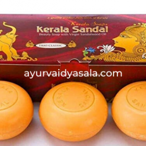Kerala Sandal Soap – Trio Classic (Pack of 2)